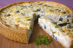Welsh cheese & leek quiche  Harlech Code: 8416