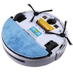 Ceci est la version mise à jour pour notre Aspirateur Robotique Intelligent le plus populaire. Le changement principal est que Mop Cloth (amovible / lavable) est disponible maintenant offrant une efficacité de nettoyage plus élevée.