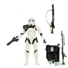 6 Inch Sandtrooper Tatooine Figure '14 Black Pauldron Series Star Wars TBS LOOSE #Hasbro