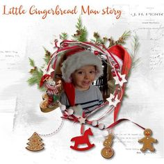 Little Gingerbread Man story - Click Image to Close