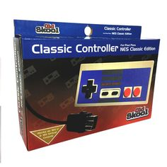 OLD SKOOL CLASSIC CONTROLLER FOR NES CLASSIC EDITION MINI SYSTEM #OldSkool