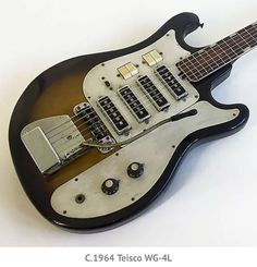 It's Not All Teisco: A Look at Lesser-Known Japanese Guitar Makers All Guitar Chords, Guitar Amp, Cool Guitar, Steampunk Guitar, Japanese Guitar, Fender Japan, Guitar Room, Cheap Guitars, Cigar Box Guitar