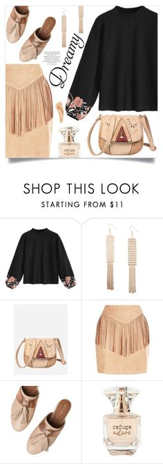 """""""Dreamy Mood"""" by mahafromkailash ❤ liked on Polyvore featuring Taschka, Refuge and Magdalena"""
