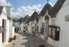 Alberobello, the town where my grandparents were born.