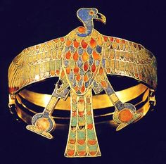 Queen Ahhotep armlet, the mother of Ahmose I, who was a pharaoh of ancient Egypt and the founder of the 18th dynasty. He was a member of the Theban royal house, the son of pharaoh Seqenenre Tao and brother of the last pharaoh of the 17th dynasty, King Kamose.  During his reign, he completed the conquest and expulsion of the Hyksos from the delta region, restored Theban rule over the whole of Egypt and successfully reasserted Egyptian power in its formerly subject territories of Nubia and Canaan.