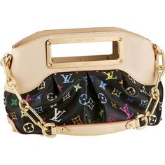 Louis Vuitton Monogram Multicolor Judy Pm M40258 Awp-$256. Normally I don't like flashy logos, but this one is fun!