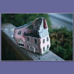 house painted rock - The Faux Chateau - Murals & stuff