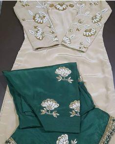 Party Wear Indian Dresses, Pakistani Fashion Party Wear, Pakistani Dresses Casual, Indian Fashion Dresses, Dress Indian Style, Indian Outfits, Silk Kurti Designs, Patiala Suit Designs, Blouse Designs