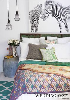 Gorgeous styling from The Wedding Nest | Style your newlywed home #galloplifestyle