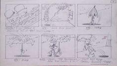 Looney Tunes - Storyboard