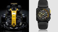Bell & Ross BR03-94 RS17 for Renault Sport F1 Team-Designed like F1 Engine  http://brandedpleasures.com/bell-ross-br03-94-rs17-for-renault-sport-f1-team/