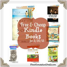 Free and Cheap Kindle Books 3/20/13: Thats My Son | How Moms Can Influence Boys to Become Men of Character, plus more