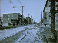 rue beaubien>est angle boyer , février 1932 | Benoit Brouillette | Flickr Canada Eh, Photos Du, Far Away, Old Pictures, Rue, Montreal, Big Ben, Past, Boyer