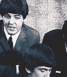 Paul McCartney giggles! :) gif