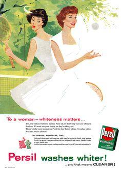 vintage detergant laundry ads