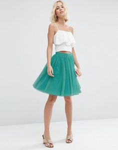 Shop ASOS Tulle Mini Prom Skirt with Multi Layers. With a variety of delivery, payment and return options available, shopping with ASOS is easy and secure. Shop with ASOS today. Asos Wedding, Tulle Wedding, Ss15 Fashion, Fashion Online, Spring Summer Trends, Spring Summer Fashion, Layer Style, Casual Cosplay, Pretty Dresses