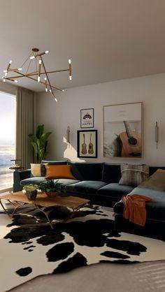 House Design, Home Decor Inspiration, Apartment Inspiration, Interior Design, House Interior, Aesthetic Room Decor, Home, Interior, Home Decor