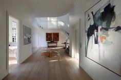 Morcon Developments - Lansell Road Toorak Hallway Staircase