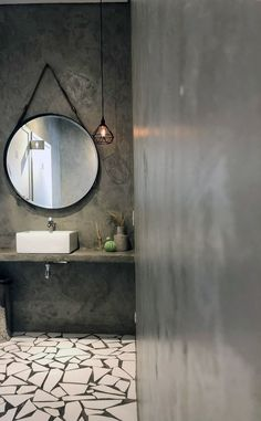 Home Design Decor, Modern House Design, Interior Design, Home Decor, Bathroom Interior, Men's Bathroom, Cozy Room, Mid Century Decor, Bathroom Colors