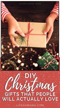 Christmas will be here before we know it! It is never too early to start getting gifts ready. Life as Mama has 20 DIY Christmas gifts that people will actually love. Tap the photo again to learn more. #lifeasmama #Christmas #DIYChristmas #giftideas #gifts #Christmasgift Fun Crafts For Kids, Projects For Kids, Leather Bookmark, Room Mom, Diy Christmas Gifts, Christmas Inspiration, Craft Activities, Handmade Shop, Christmas Traditions