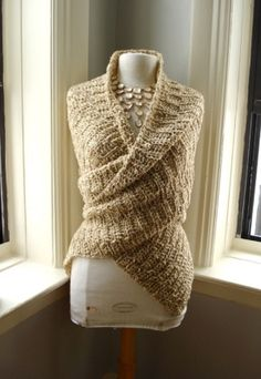 The Year Round Wrap by terrie....I want one.   Looks so warm and comfy!