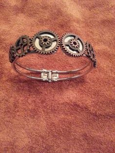 """Steampunk jewelry braclet """"one of a kind"""""""