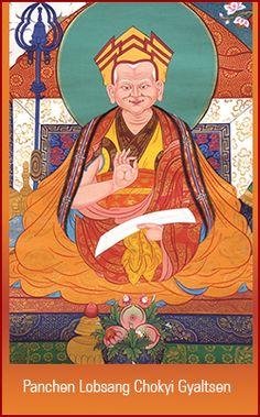 """Panchen Lobsang Chokyi Gyaltsen - l'un des auteurs du """"LAMRIM Jangchup"""""""