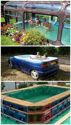 18 Cool Makeshift Pools