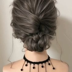 Hairstyles For Round Faces .Hairstyles For Round Faces Long Hair Updo Prom, Long Hair Ponytail, Simple Prom Hair, Prom Hairstyles For Short Hair, Braids For Short Hair, Formal Hairstyles, Diy Hairstyles, Everyday Hairstyles, Casual Updos For Medium Hair