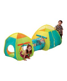 Take a look at this Pop Up & Tunnel Combo Set by Schylling on #zulily today!