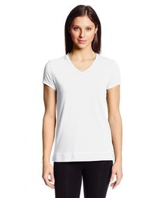 5ad78a87f5 Women's Streets V-Neck Tee - White - CT118FWJ0ZN