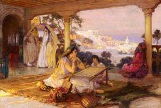 Art by Frederick Arthur Bridgman (1847-1928)
