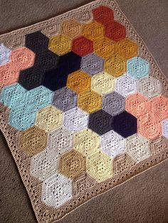 BabyLove Brand Geometric Lace Blanket/Afghan by BabyLoveBrandKids