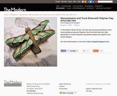 Deb Hart Fine Art & Polymer Designs: Change #2 - Museum of Modern Art
