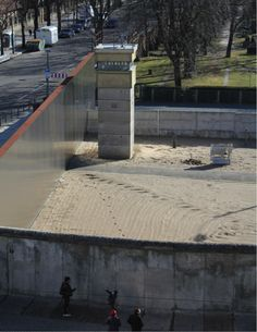 Berlin - Dividing wall between East and West Berlin.