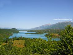 Debar Lake - artificial lake in the valley of Crn Drim river - Macedonia Nature Republic Of Macedonia, Where To Go, Natural Beauty, Places To Visit, River, City, Beach, Nature, Outdoor