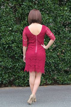 Laced in Mystery Dress at Juliana's Boutique- shopjulianas.com
