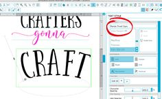 Curving text in Silhouette Studio