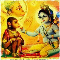 Lord Krishna & Lord Hanuman