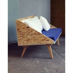 sofá de OSB