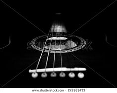 The guitar - stock photo