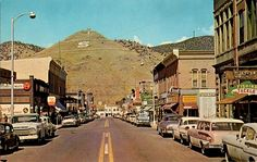Salida, Colorado Downtown Business Section, 1950s by aldenjewell, via Flickr