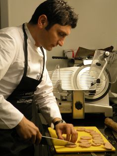 #Masters of Food & Wine 2012- Park #Hyatt #Milano  #salami