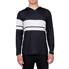 Volcom Mens 3 Quarta Long Sleeve Rash Guard Black Large ** Want additional info? Click on the image.
