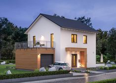 Village House Design, Village Houses, Front Yard Design, House Extensions, House Front, Home Projects, Modern Architecture, Modern Farmhouse, Bungalow