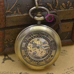 $63.00 (Buy here: https://alitems.com/g/1e8d114494ebda23ff8b16525dc3e8/?i=5&ulp=https%3A%2F%2Fwww.aliexpress.com%2Fitem%2Fwholesale-men-Mechanical-Pocket-Watch-arabic-man-fob-watches-steampunk-bronze-roman-antique-vintage-retro-Stylish%2F32662339983.html ) wholesale men Mechanical Pocket Watch arabic man fob watches steampunk bronze roman antique vintage retro Stylish hand Wind good for just $63.00