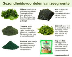 Gezondheidsvoordelen van zeewier