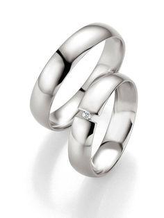 Ehe Ringe in Palladium Ringbreite 3 5 mm Kollektionen Zeitlose