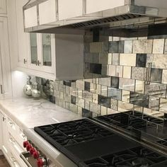 Antique Mirror Subway Tile, It's Strip Tile! With Strip Tile, installation is easy using our mirror tape or mirror adhesive. Create a unique kitchen backsplash or a feature wall with Antique Mirror Ti