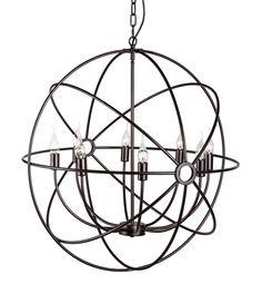 Helvine Ceiling Lamp Rust